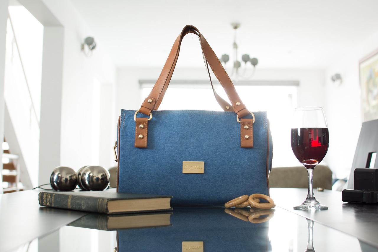 En dyrare väska av god kvalitet